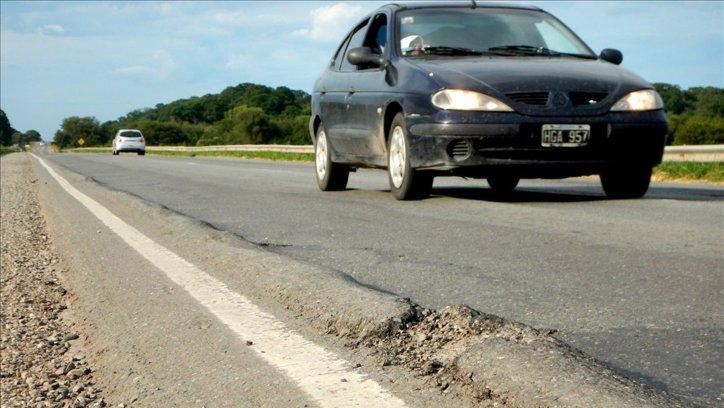 En Rosario, la ruta 34 también está devastada. Pablo Sarmiento