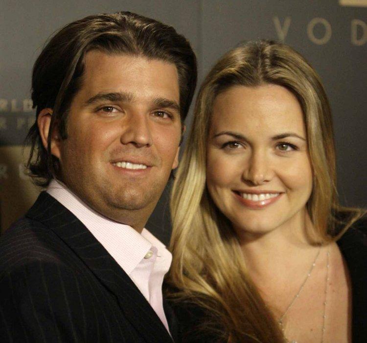 Donald Trump Jr. y su esposa Vanessa.