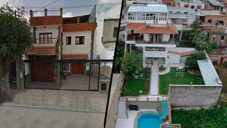 Esta es la casa de Milagro Sala en el Barrio Cuyaya.