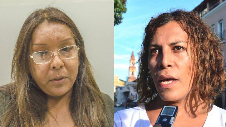 Mary Robles.  Victoria Liendro.