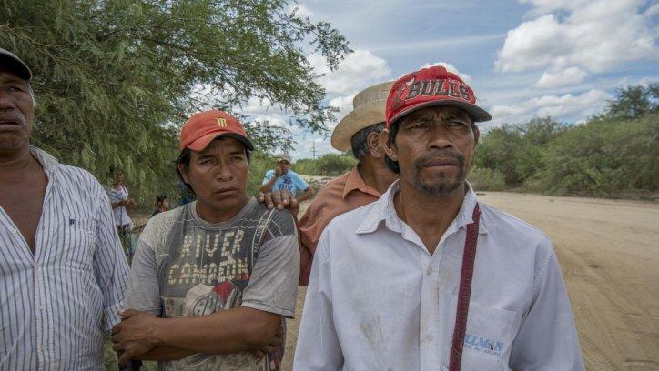 Belisario Gomez, cacique de la comunidad Lahakahonat. Juan Barthe