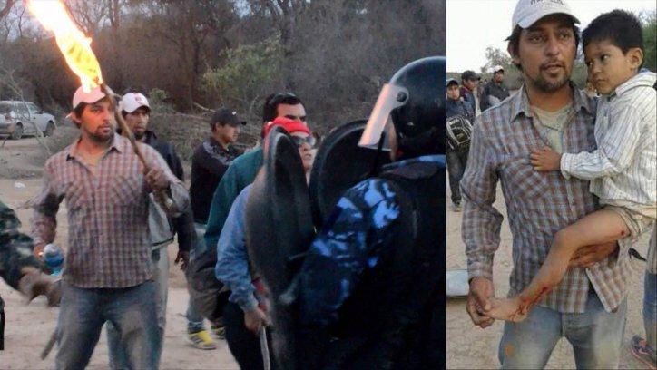 Pablo Moreno estaba acusado de quemar a policías en Morillo. ARCHIVO.