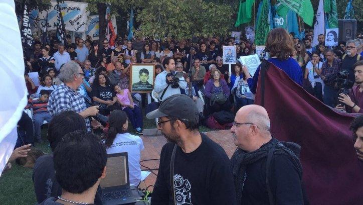 Organizaciones de Derechos Humanos hacen actividades por el Día de la Memoria en Salta. Federico Medaa