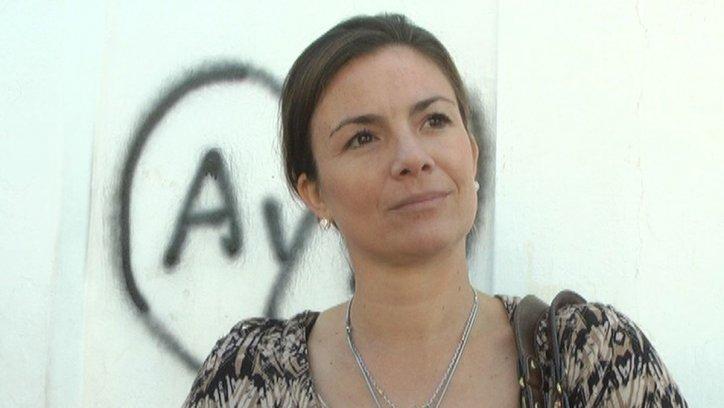 María Inés Damorena, supervisora.