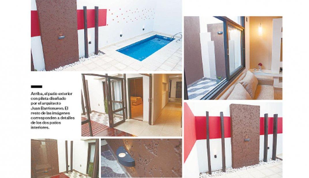 Patio interior aire y luz natural en casa - Casas con luz natural ...