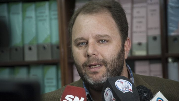 Alejandro Gaudelli, secretario administrativo del Ministerio de Educación de Salta. Lucas Alascio
