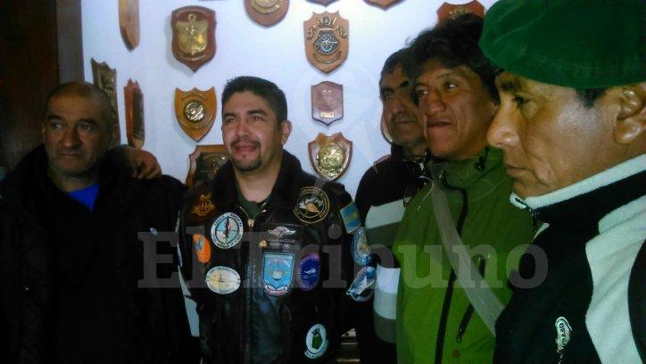 José Ortega y José Montenegro, primero y segundo desde la derecha.