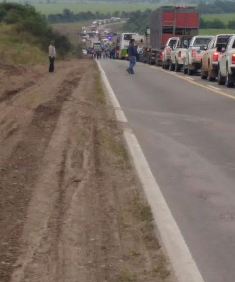 Un grupo de narcos se tiroteó esta mañana cerca de San Pedro de Jujuy con efectivos de Gendarmería.