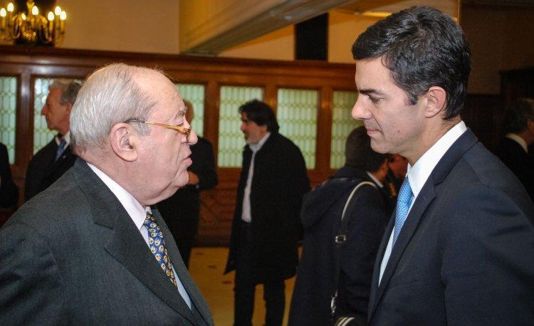 Guillermo Ignacio, presidente de Adepa, junto a Juan Manuel Urtubey.