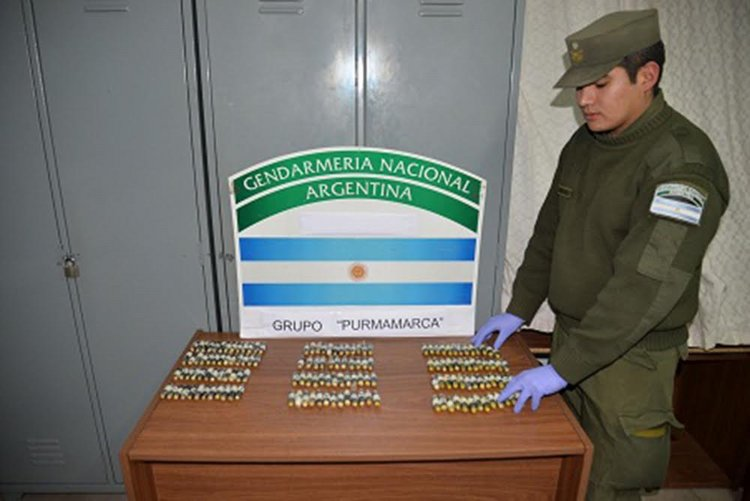 El procedimiento se llevó a cabo en Purmamarca, en la provincia de Jujuy.