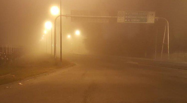 Así se ve la avenida Ex Combatientes de Malvinas.