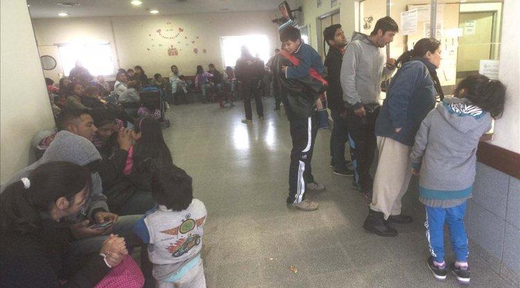 Sector de emergencias del hospital Materno Infantil. (Lucas Alascio)