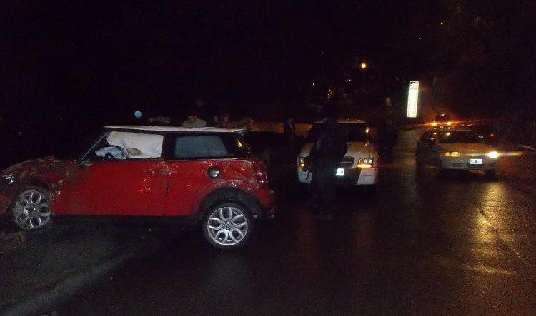 El accidente ocurrió a las 2.40 de la madrugada de hoy en la Avenida Victorino de la Plaza.
