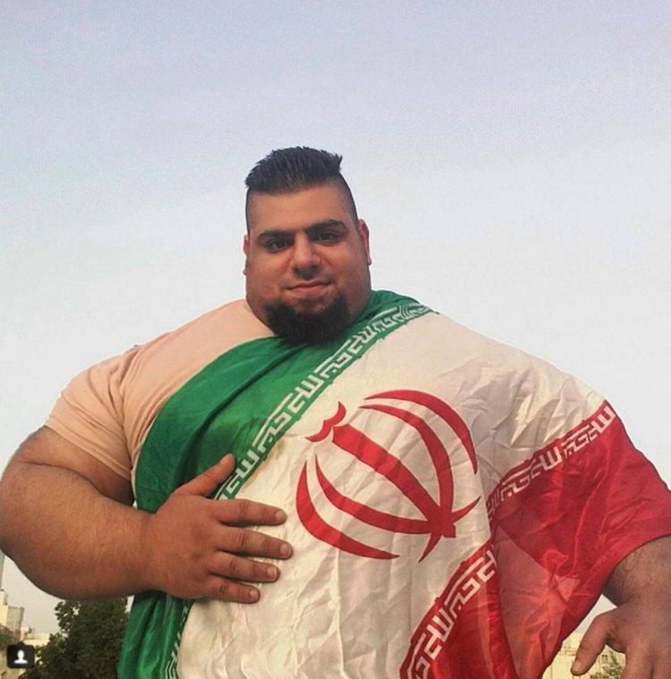 El iraní Gharibi cree que con su físico puede provocar pánico en los fanáticos sunitas del Estado Islámico.