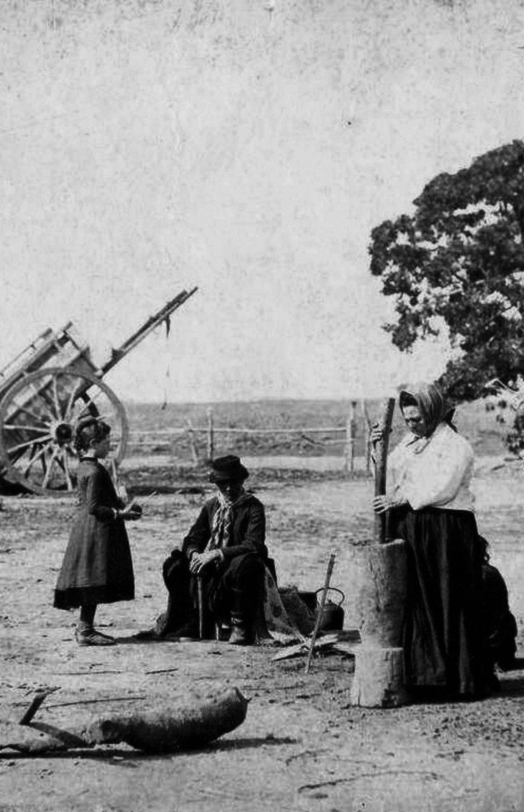 Familia Rural en 1886.