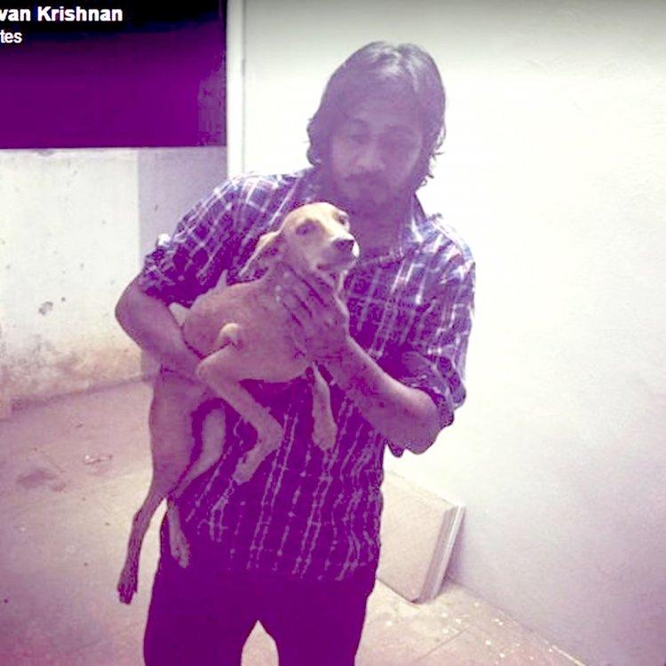 Shravan, el héroe,con su nuevo mejor amigo.
