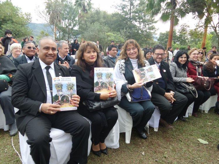 Festejo por los 25 años del hogar Nueva Esperanza. Foto: Oscar Gutiérrez