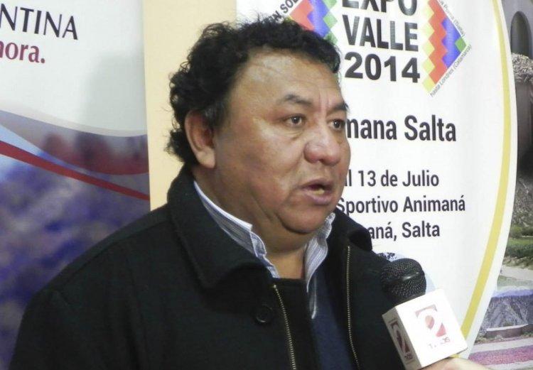 Ignacio Vicente Mamaní, exintendente de Animaná.