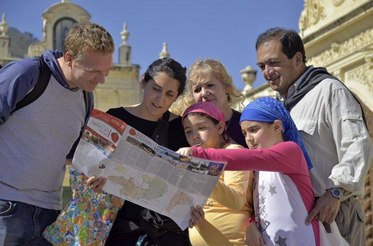 Turistas, de vacaciones en Salta. Foto: Gentileza Ministerio de Cultura y Turismo de la Provincia