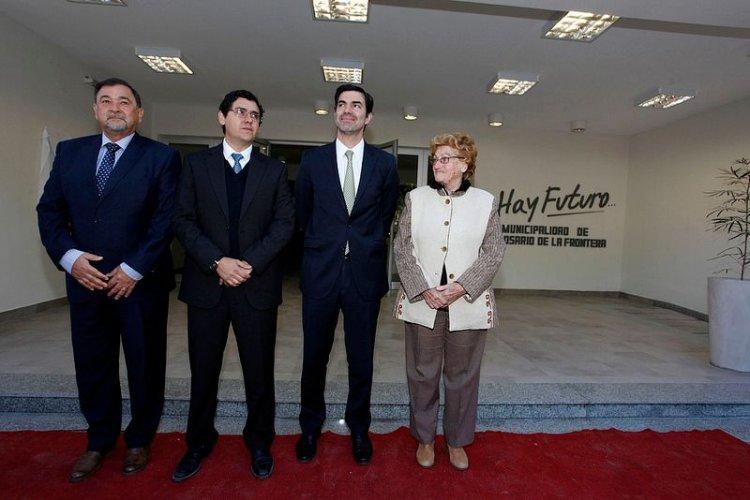 Inauguraron un edificio modelo para la Municipalidad de Rosario de la Frontera.