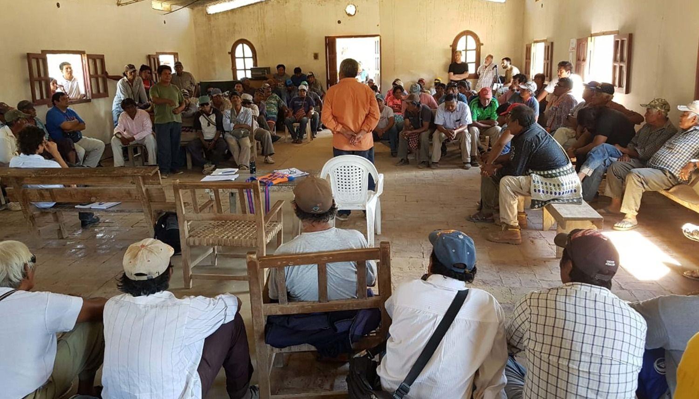 Comunidades originarias exigen al Estado que reanuden los trabajos ...