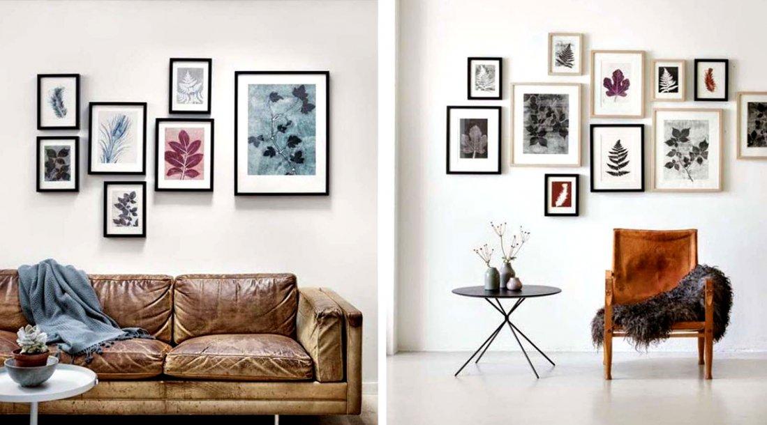 Decorar con cuadros o el arte de la composici n - Cuadros pequenos para decorar ...