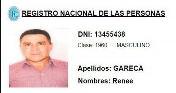 Renee Gareca, uno de los policías prófugos acusado de narcotráfico.