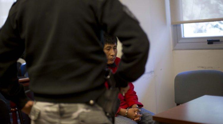 Juan Díaz, condenado a tres años y medio de prisión por encubrimiento agravado. Foto: Javier Corbalán