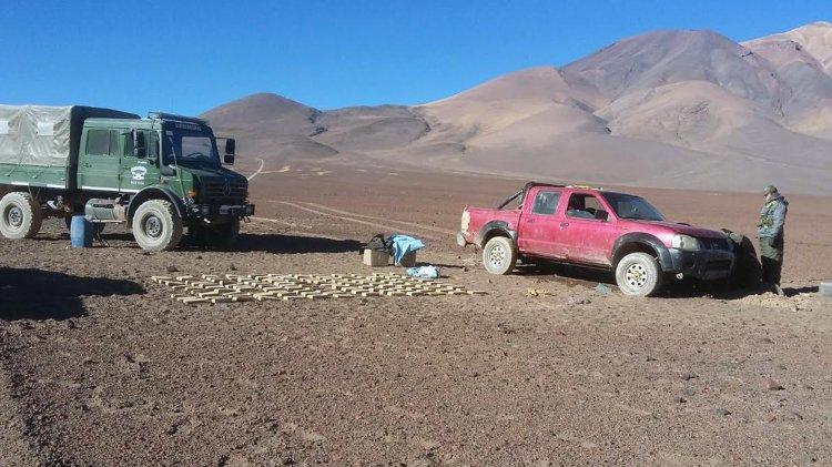 Dos ciudadanos de nacionalidad boliviana mayores de edad quedaron detenidos.