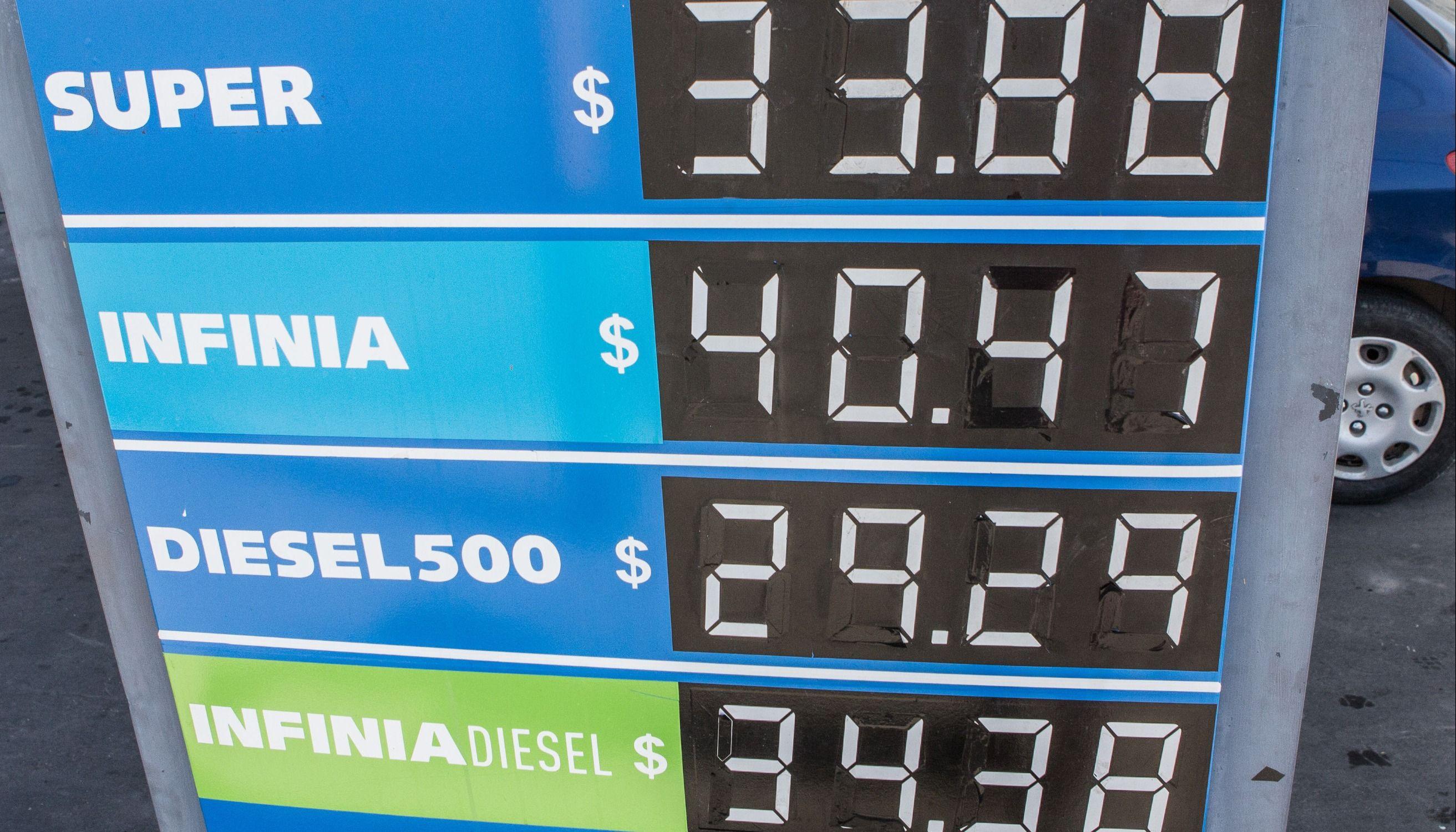 4e06d0312bef YPF volvió a subir sus precios y la nafta Infinia pasó los  40