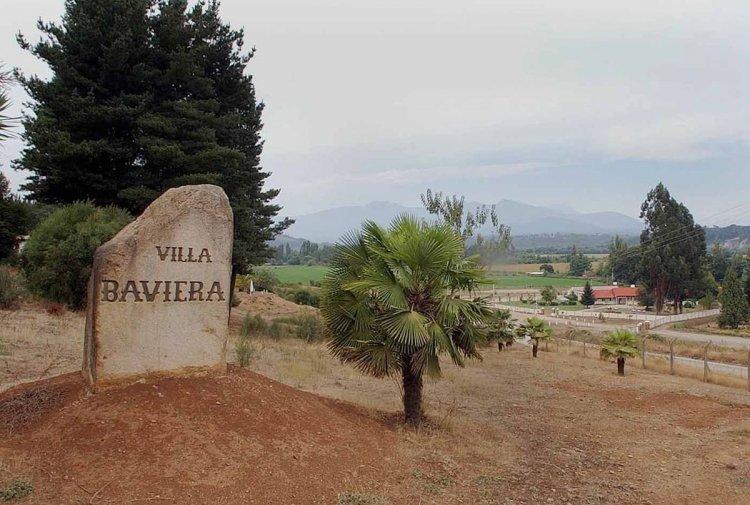 Colonia Dignidad, también llamada Villa Baviera, el día después de la detención de Paul Schäfer, que fue el 11 de marzo de 2005. Foto: Archivo AP
