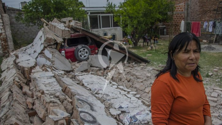 #TEMBLORENSALTA | Un sismo de 5,9 grados en Salta dejó una mujer muerta, heridos y destrozos Fotos: Pablo Yapura