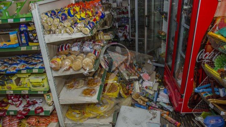 #TEMBLORENSALTA | Un sismo de 5,9 grados en Salta dejó una mujer muerta, heridos y destrozos. Foto: Pablo Yapura