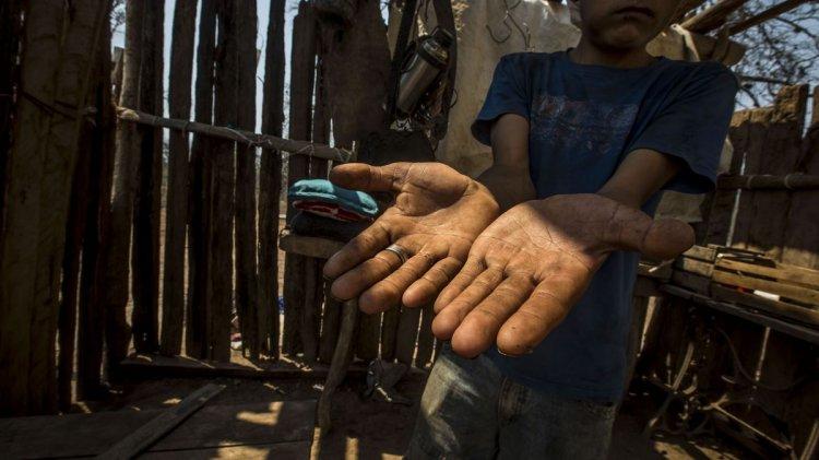 Uno de los jovenes afectados en Nueva Población.