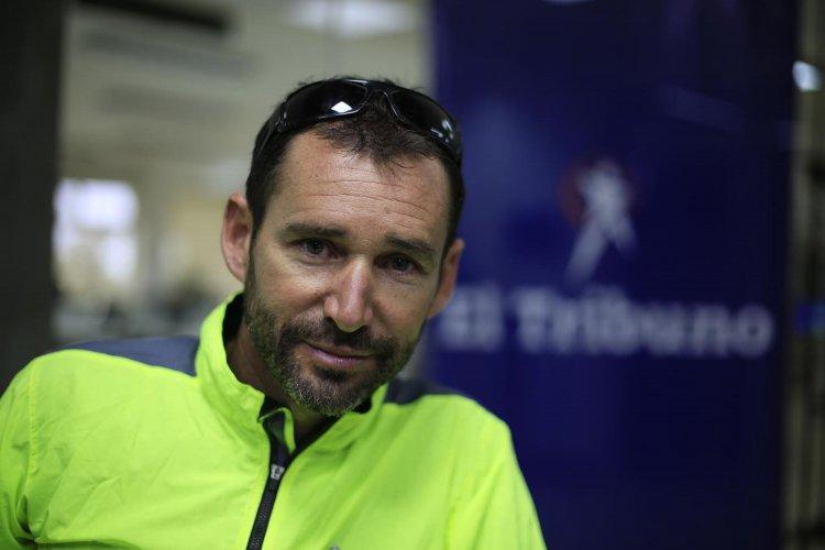 Pablo García, recorrió 105 países y pedaleó 153 mil kilómetros hasta ahora.