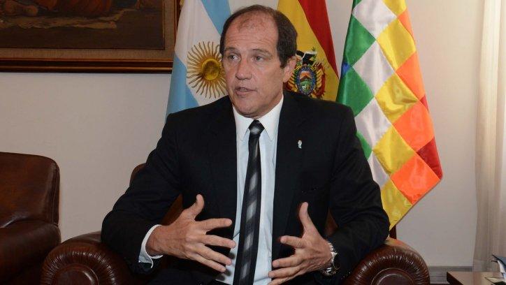 Ariel Basteiro, embajador de Argentina en Bolivia.