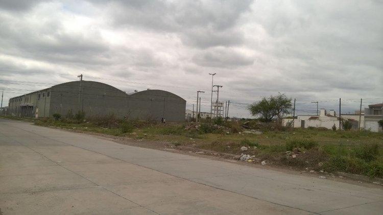 Otro de los espacios verdes con los pastos altos. Desde marzo de este año que la municipalidad no mantiene el lugar.
