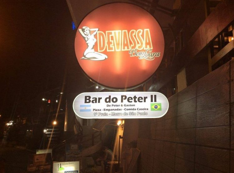 Bar donde trabajaba el argentino asesinado.