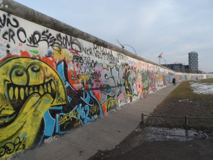 El muro de Berlín, símbolo de una parte de la historia del siglo XX.