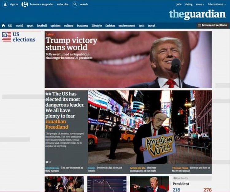 El británico The Guardian: