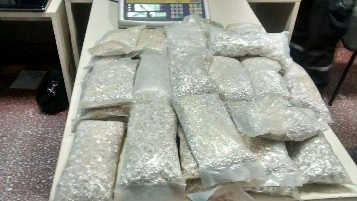 Más de 200 kilos de plata ilegal tenían como destino Tucumán.