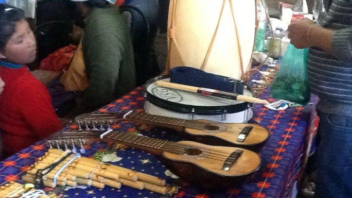 Instrumentos cedidos en comodato por Fundartis.